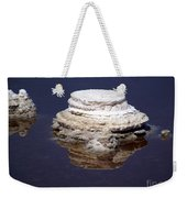 salt cristal at the Dead Sea Israel  Weekender Tote Bag