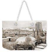 Salt Lake City Landmarks Weekender Tote Bag