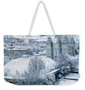 Salt Lake City Tabernacle And Temple Weekender Tote Bag