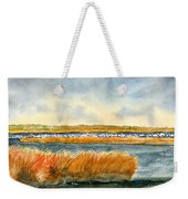 Salt Marsh And Snow Geese Weekender Tote Bag