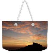 Salt Point Sunset Weekender Tote Bag