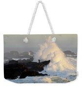 Salt Point Wave Weekender Tote Bag