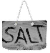 Salt Weekender Tote Bag