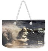 Salt Spray Surfing Weekender Tote Bag