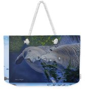 Salt Water Ballet - Manatees - 2 Weekender Tote Bag