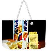 Saltine Crackers Weekender Tote Bag