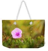 Saltmarsh Morning Glory Flower  Weekender Tote Bag