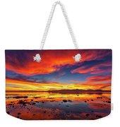 Salton Sea Sunset Weekender Tote Bag