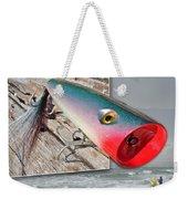 Saltwater Fishing Weekender Tote Bag