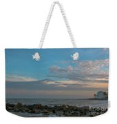 Salty Air Over Breach Inlet Weekender Tote Bag