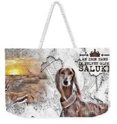 Saluki - The One And Only Weekender Tote Bag