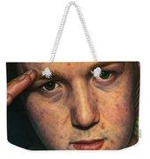 Salute Weekender Tote Bag by James W Johnson