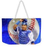 Salvador Perez-kc Royals Weekender Tote Bag