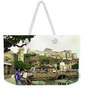 Salvador's Old Port At Noon Weekender Tote Bag