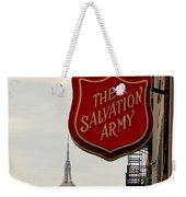 Salvation Army New York Weekender Tote Bag
