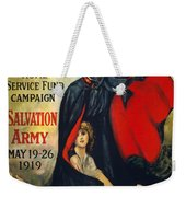 Salvation Army Poster, 1919 Weekender Tote Bag