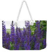 Salvia In The Spring Weekender Tote Bag