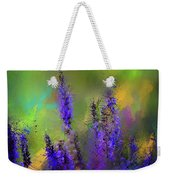 Salvia May Night Art -purple Modern Abstract Art Weekender Tote Bag