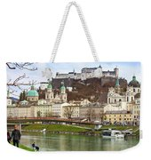 Salzburg City And Fortress  Weekender Tote Bag