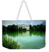 Salzburg Home With Lake Weekender Tote Bag