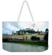 Salzburg Over The Danube Weekender Tote Bag by Carol Groenen