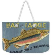 Sam Egan's Bait And Tackle Weekender Tote Bag