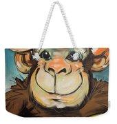 Sam The Monkey Weekender Tote Bag