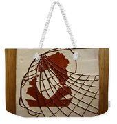 Samantha - Tile Weekender Tote Bag