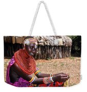 Samburu Beauty Weekender Tote Bag