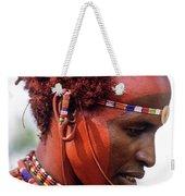 Samburu Warrior Weekender Tote Bag
