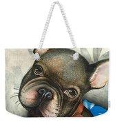 Sammy The French Bulldog Weekender Tote Bag