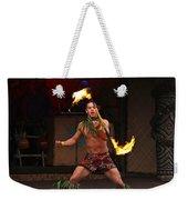 Samoan Fire Dance Weekender Tote Bag