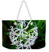Samoan Spider Lily Weekender Tote Bag