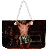 Samoan Warrior Weekender Tote Bag
