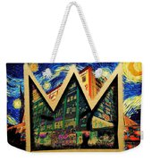 samoL Starry Night Weekender Tote Bag