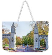 Sample Gates At University Of Indiana Weekender Tote Bag
