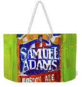 Samuel Adams Boston Ale Weekender Tote Bag