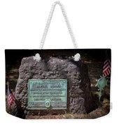 12- Samuel Adams Tombstone In Granary Burying Ground Eckfoto Boston Freedom Trail Weekender Tote Bag