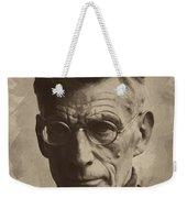 Samuel Beckett 1 Weekender Tote Bag