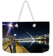 Samuel Beckett Bridge 2 Weekender Tote Bag