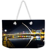 Samuel Beckett Bridge 3 Weekender Tote Bag