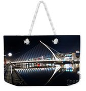 Samuel Beckett Bridge 3 V2 Weekender Tote Bag
