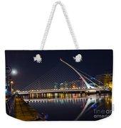 Samuel Beckett Bridge  Weekender Tote Bag