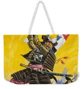 Samurai Warriors Weekender Tote Bag