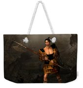 Samural Warrior Weekender Tote Bag