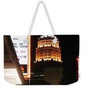 San Antonio Downtown Night Weekender Tote Bag
