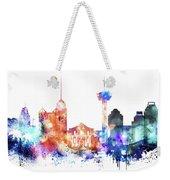 San Antonio Skyline Weekender Tote Bag