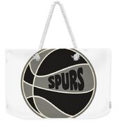 San Antonio Spurs Retro Shirt Weekender Tote Bag