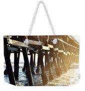 San Clemente Pier Magic Hour Weekender Tote Bag