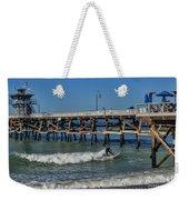 San Clemente Surfing Weekender Tote Bag